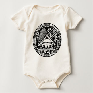 American Samoa Coat of Arms Baby Bodysuit