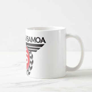 American Samoa Crest Design Coffee Mug