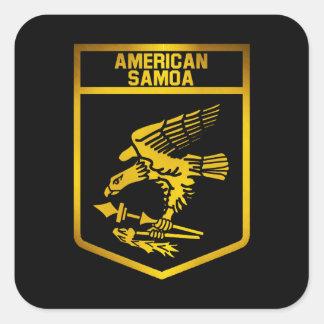 American Samoa Emblem Square Sticker