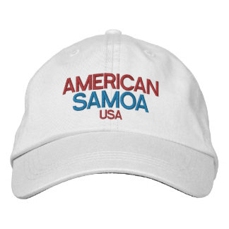 American Samoa Embriodered Hat Embroidered Hats