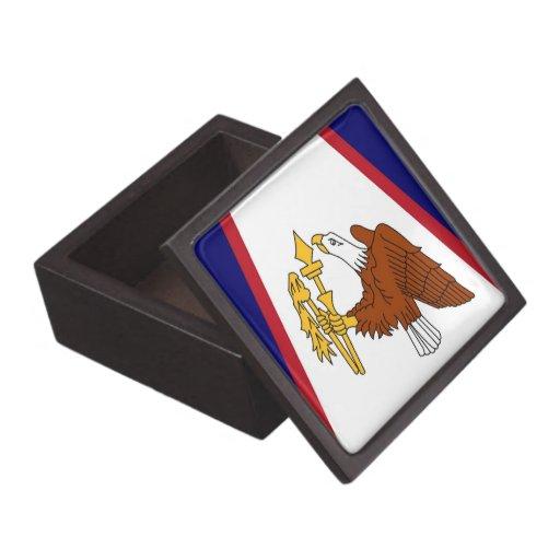 American Samoa Flag Premium Gift Box