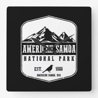 American Samoa National Park Clocks