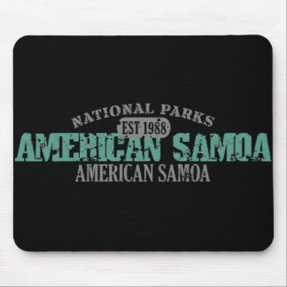 American Samoa National Park Mouse Pad
