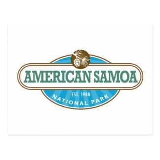 American Samoa National Park Postcard