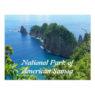 American Samoa National Park Postcard