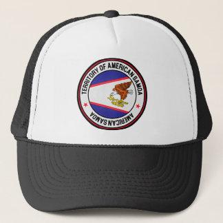 American Samoa Round Emblem Trucker Hat