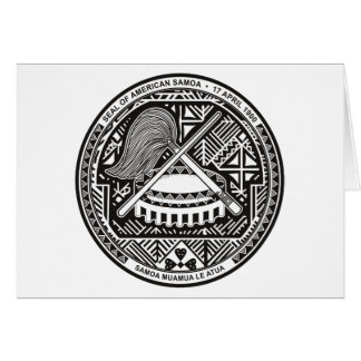 American Samoa Seal Greeting Card