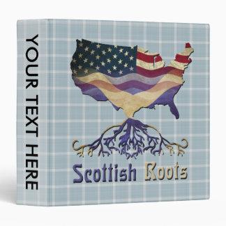 American Scots Roots Binder