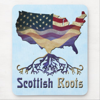 American Scottish Roots Mousemat Mouse Pad