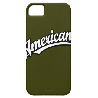 American script logo White and Black iPhone 5 Cover