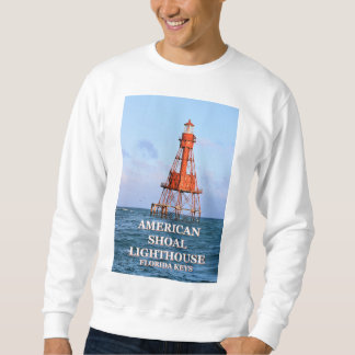 American Shoal Lighthouse, Florida Keys Sweatshirt