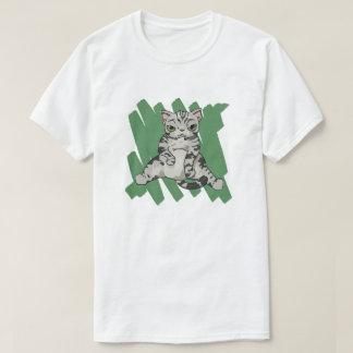 American Shorthair Cat scratch T-Shirt