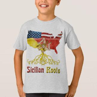 American Sicilian Roots Children's T-Shirt