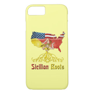 American Sicilian Roots iPhone Smartphone Case