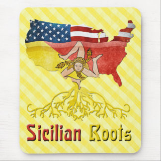 American Sicilian Roots Mousemat Mouse Pad