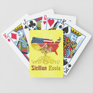 American Sicilian Roots Playing Cards