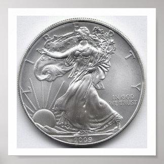 American Silver Eagle Poster