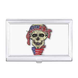 American Skull Business Card Holders