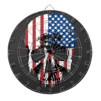 American Skull Dartboard