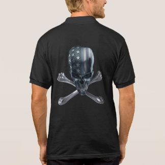American Skull Polo Shirt
