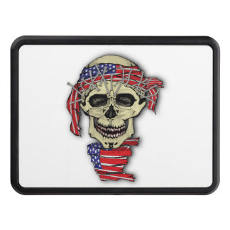 American Skull Tow Hitch Cover