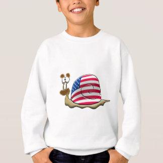 American snail sweatshirt