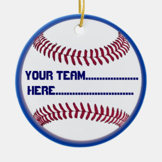 American Softball charm and Souvenir Ceramic Ornament