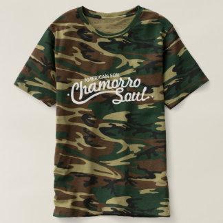 American Soil, Chamorro Soul Men's Camo T-Shirt