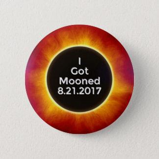 American Solar Eclipse Got Mooned August 21 2017.j 2 Inch Round Button