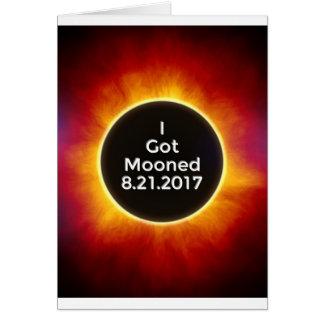 American Solar Eclipse Got Mooned August 21 2017.j Card