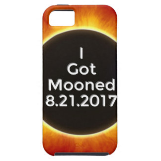 American Solar Eclipse Got Mooned August 21 2017.j Case For The iPhone 5