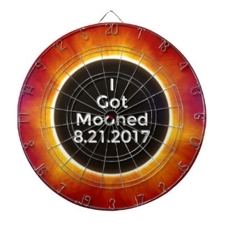 American Solar Eclipse Got Mooned August 21 2017.j Dartboard