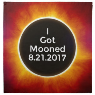 American Solar Eclipse Got Mooned August 21 2017.j Napkin