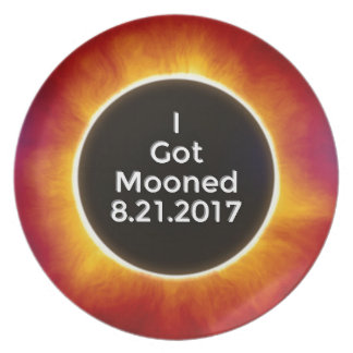 American Solar Eclipse Got Mooned August 21 2017.j Plate