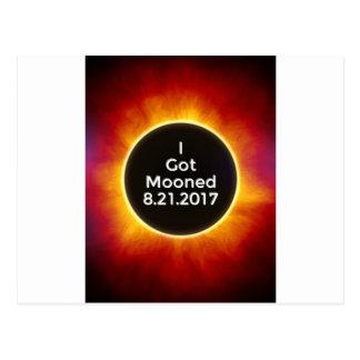 American Solar Eclipse Got Mooned August 21 2017.j Postcard