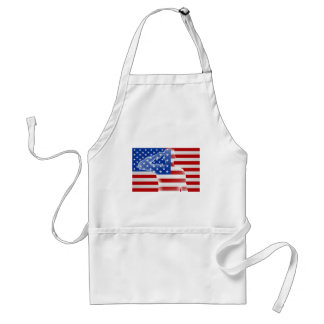 American Soldier Saluting Standard Apron
