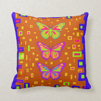 American Southwest Butterfly Cushion by Sharles Pillow