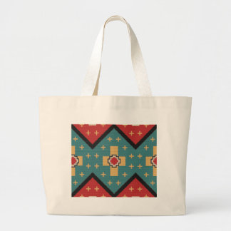 American Southwest Indian Pattern Large Tote Bag