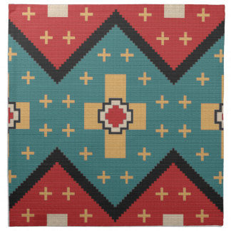 American Southwest Indian Pattern Napkin