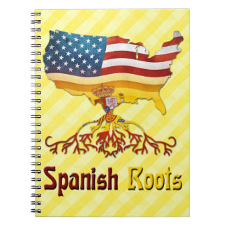 American Spanish Roots Notepad Notebooks