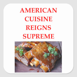 AMERICAN SQUARE STICKER