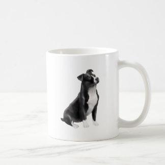 American Staffordshire (black-white) Mug