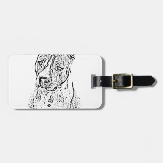 American Staffordshire Terrier Bag Tag