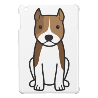 American Staffordshire Terrier Dog Cartoon Cover For The iPad Mini