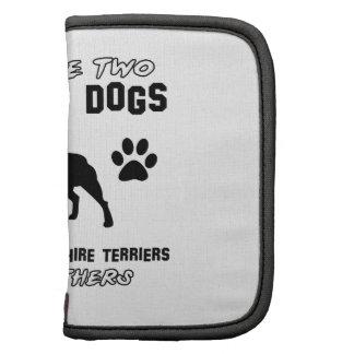 American Staffordshire terrier dog designs Folio Planner