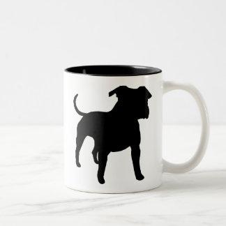 American Staffordshire Terrier Gear Two-Tone Coffee Mug