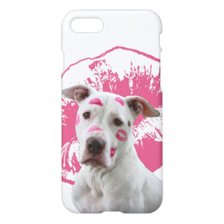 American Staffordshire Terrier - Kiss Kiss iPhone 7 Case
