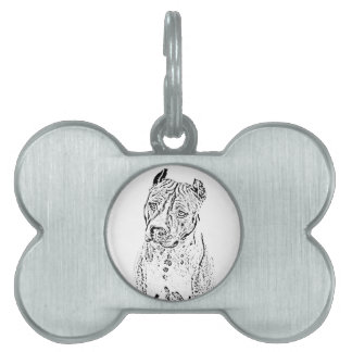 American Staffordshire Terrier Pet ID Tags