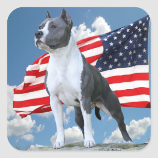 American Staffordshire Terrier (Pit Bull) stickers