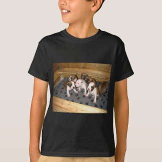 American Staffordshire Terrier Puppies Dog T-Shirt